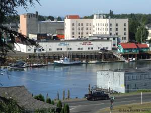 Downtown View of Hoquiam
