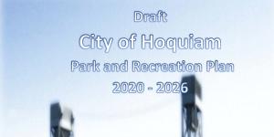 Public Hearing - Parks Plan @ Hoquiam City Hall