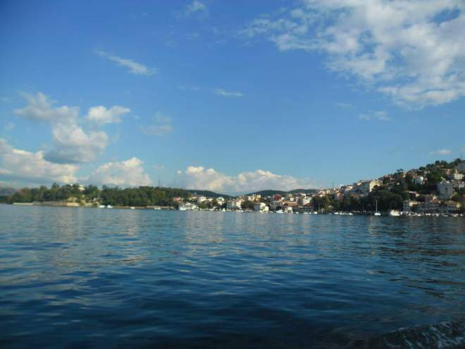 Crossing the Bosphorus by boat 10