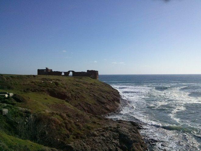 Rumeli Lighthouse Castle and the Black Sea
