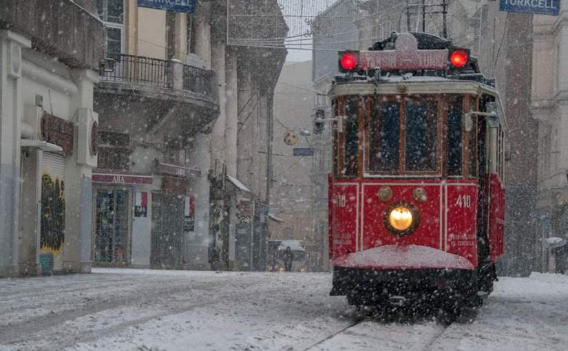 Snow, in Istanbul?