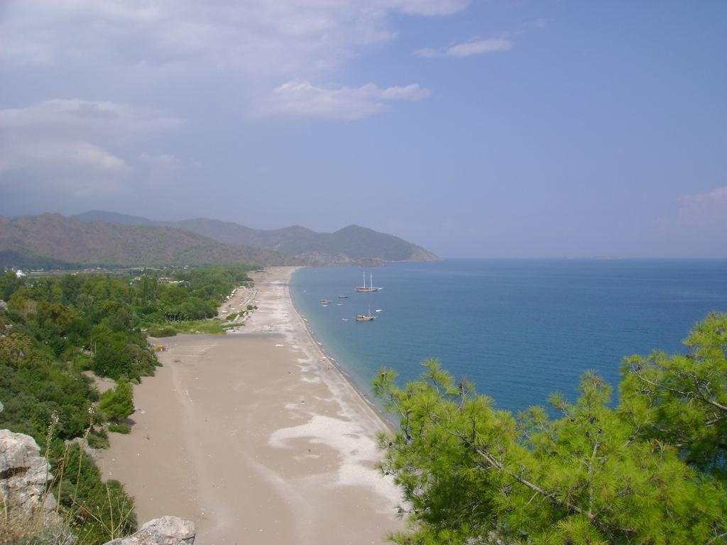 Olympos beach (2009) - Antalya, Turkey