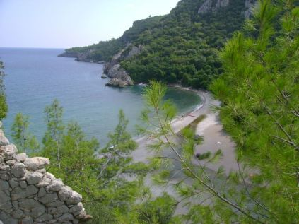Olympos Beach, Antalya, Turkey