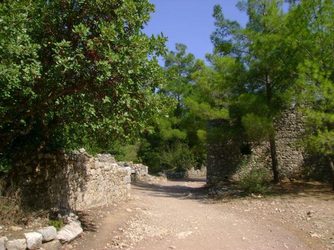 The ancient Lycian city of Olympos, Antalya, Turkey