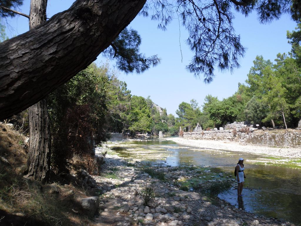 The ancient city of Olympos - 2012, Antalya, Turkey - 03