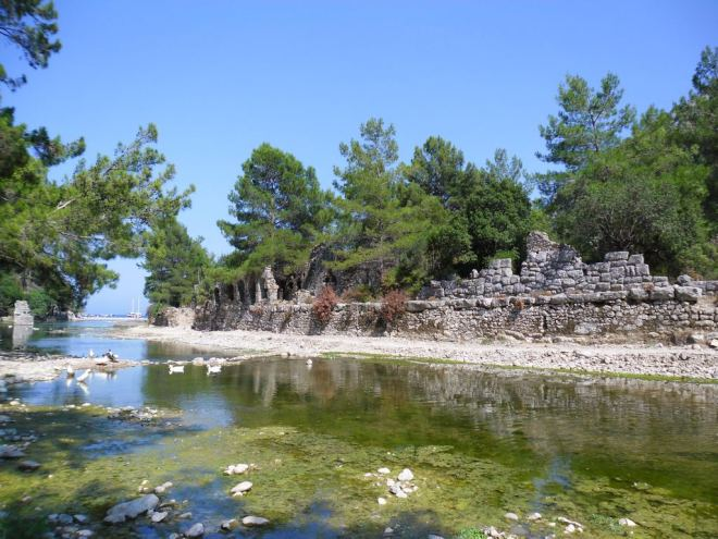 The ancient city of Olympos - 2012, Antalya, Turkey - 09