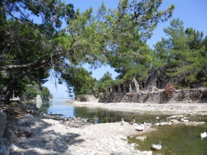 The ancient city of Olympos - 2012, Antalya, Turkey - 10