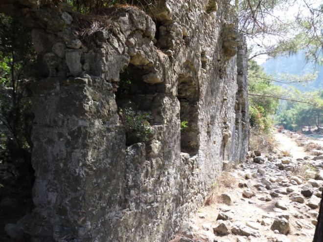 The ancient city of Olympos - 2012, Antalya, Turkey - 14