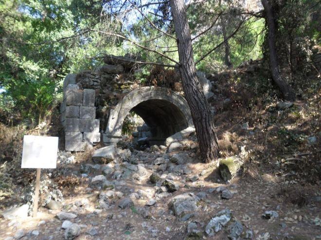 The ancient city of Olympos - 2012, Antalya, Turkey - 20