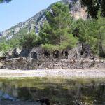 The ancient city of Olympos - 2012, Antalya, Turkey - 24