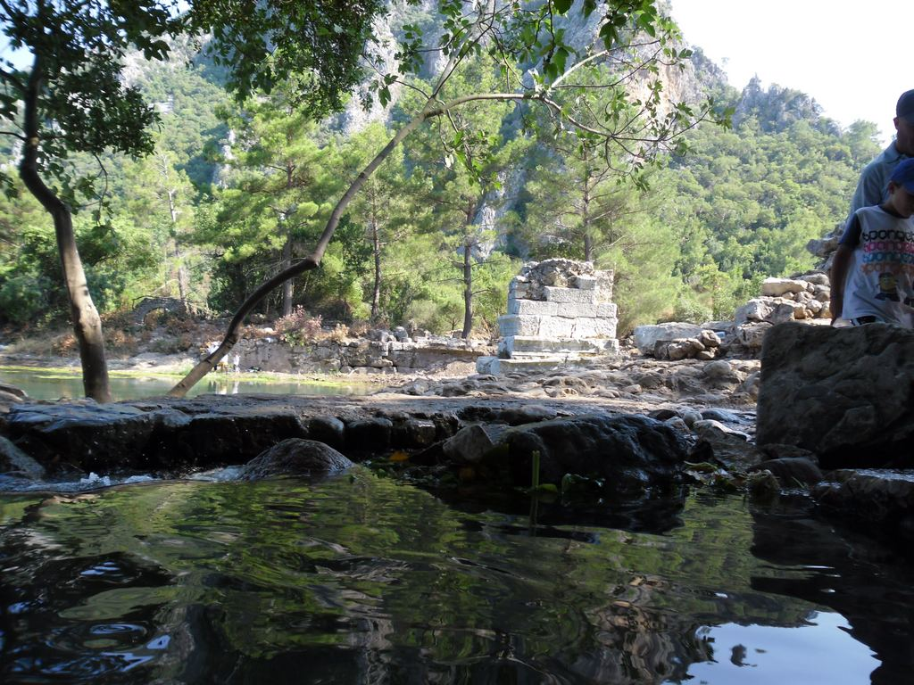 The ancient city of Olympos - 2012, Antalya, Turkey - 43