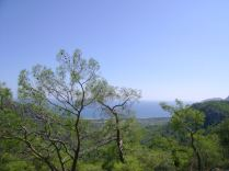 The view from the Chimera (burning stones) - Antalya, Turkey