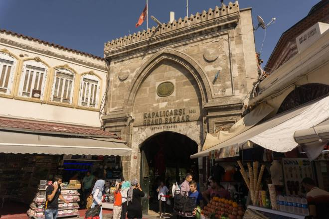 What to see in one day in Istanbul? Beyazıt Entry of Grand Bazaar