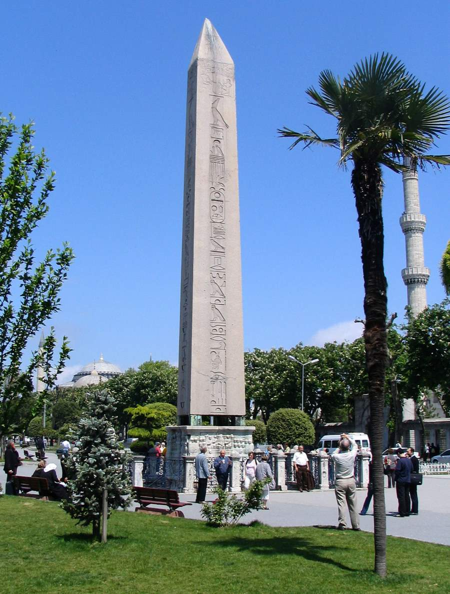 Obelisk of Thutmose III in the Hippodrome of Constantinople