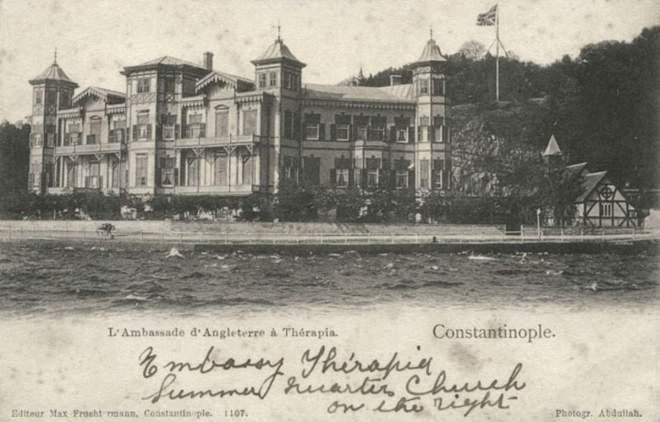British Embassy's summer house in Tarabya, Istanbul