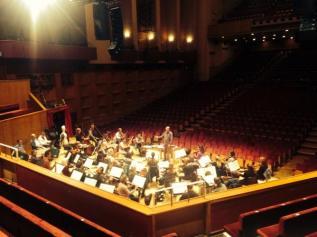 Rehearsals for Midsummer Night's Dream at Fairfield Hall