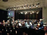 harlow concert rehearsals @orchestraslive 12 feb