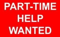 Part Time Job Opportunity