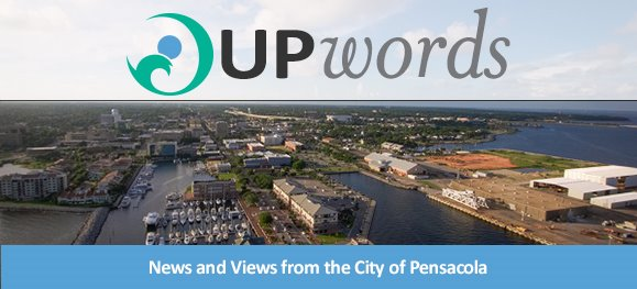 UPwords - News and Views from the City of Pensacola