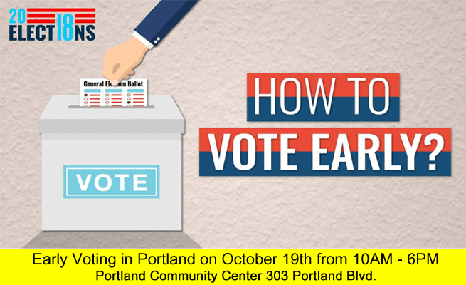 Early Voting October 19th