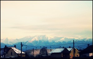 Fagaras Mountains in the Background!