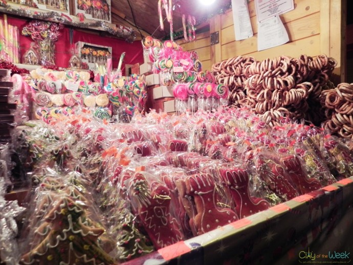 sweets at the Sibiu Christmas Market