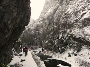 trekking in Turda Gorge