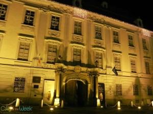 Bruckenthal Museum, Sibiu by night