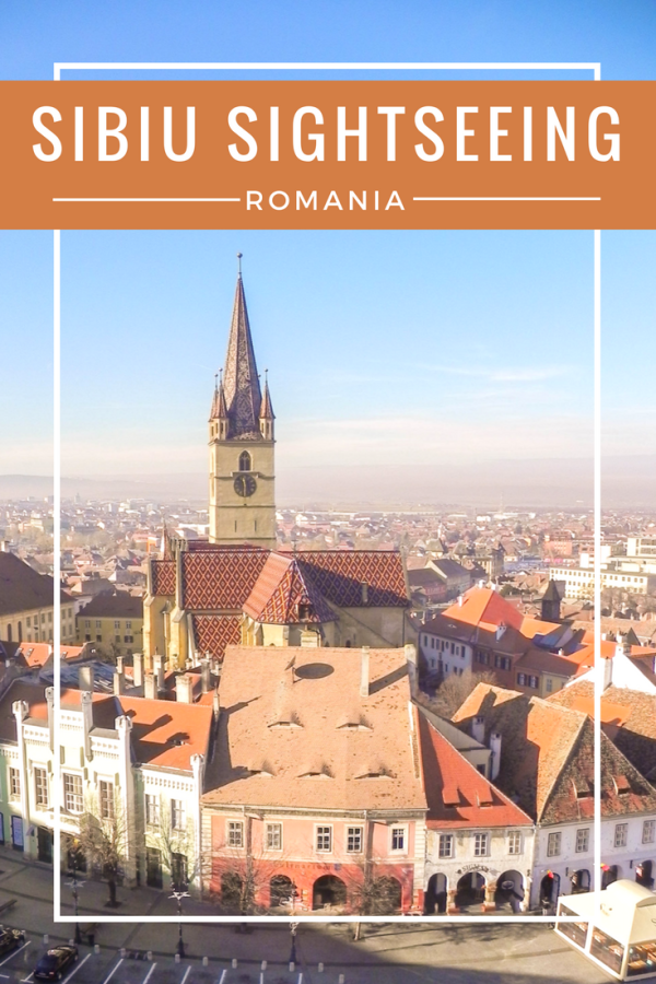 Sightseeing Sibiu Romania