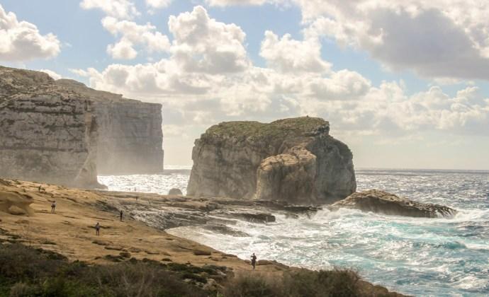 Fungus Rock, Dwejra Bay, Gozo Island, Malta