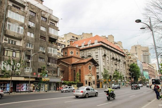 Bucharest Old Town Photo Tour, Italian Church