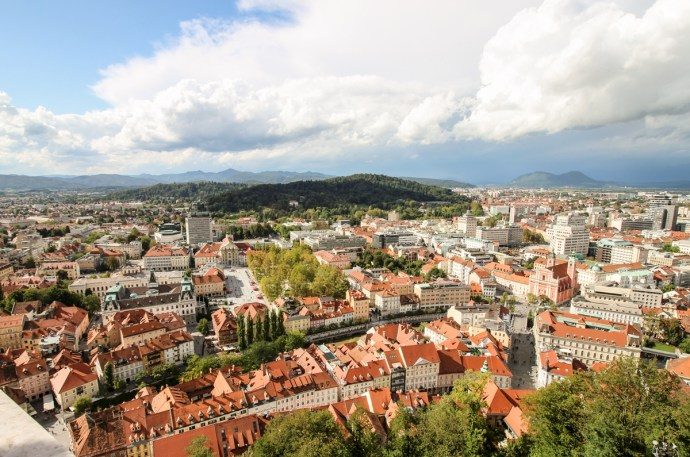 Fortress View, Guide to Visiting Ljubljana, Slovenia