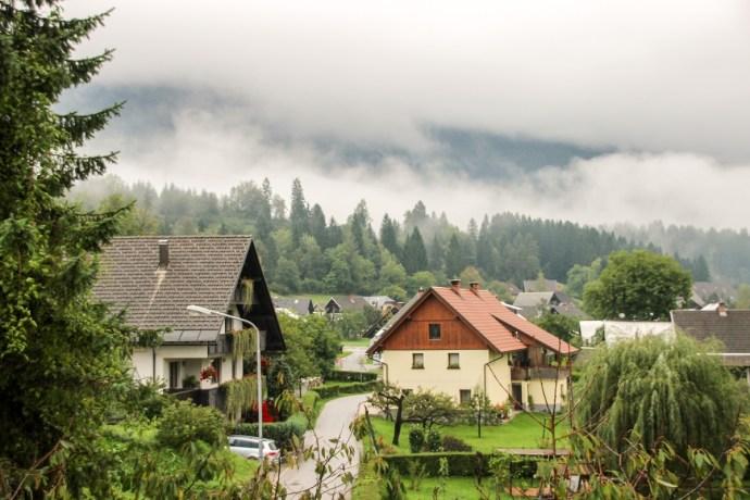 view from Apartment Zvab, Bohinjska Bistrica, Lake Bohinj Must-sees, Slovenia