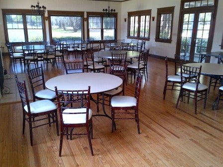 Inside the Winter Park Country Club