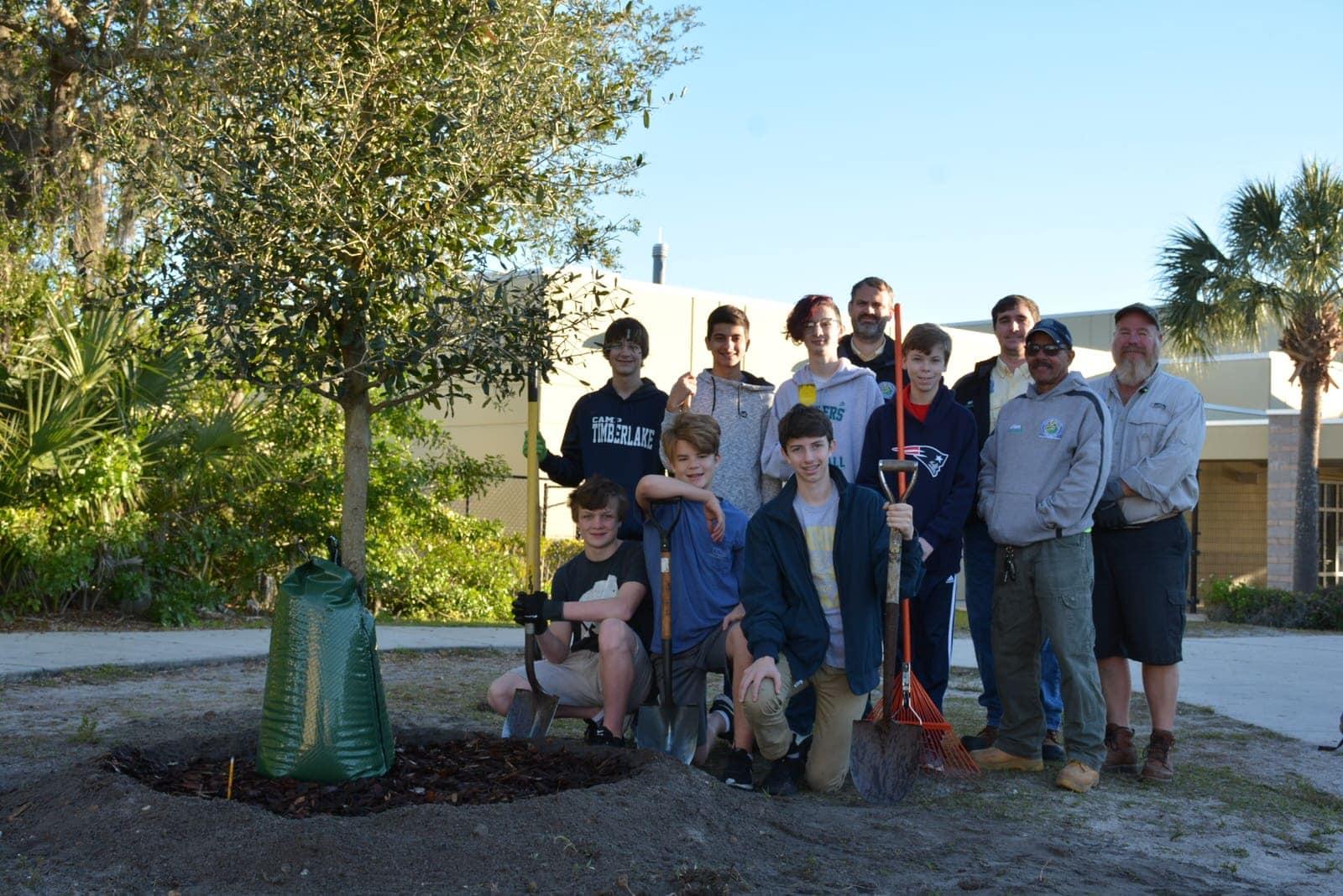 Arbor Day Glenridge Middle School City Of Winter Park