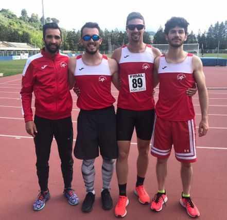 """atletica,-festival-delle-staffette:-la-4-x-100-maschile-della-gran-sasso-vince-con-42""""51"""