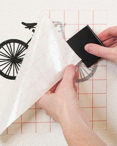 Papier Applicatietape / Transferfolie paper overzet tape vinyl stickers