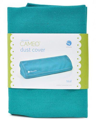 Silhouette cameo stofhoes aqua blauw voor de modellen 1 of 2 , dust cover teal COVER-CAM-TEA-3T 814792012215 Cityplotter Zaandam