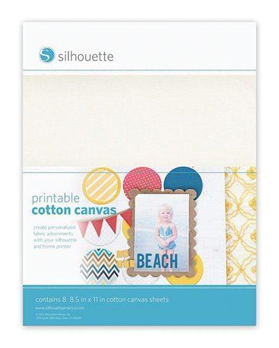 Silhouette printbaar printbare canvas printable cotton canvas MEDIA-CANVAS-ADH 814792012536 Cityplotter Zaandam