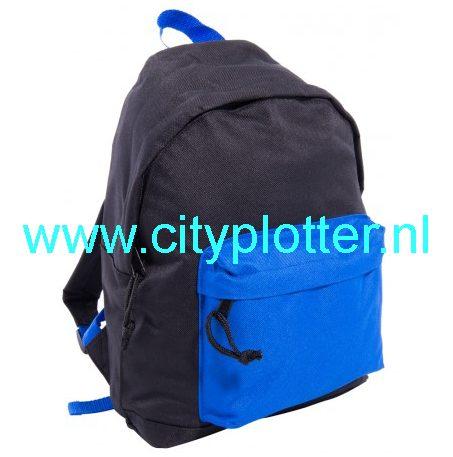rugzak-zwart-met-blauw-cityplotter-zaandam