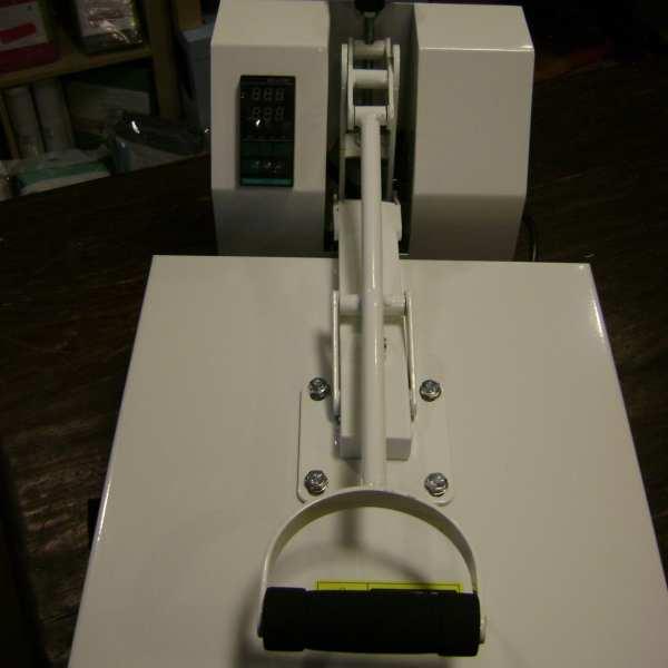 Hittepers transferpers 38 x 38 heatpress warmtepers drukpers wit white Cityplotter Zaandam