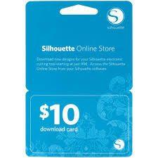 Silhouette online winkel kaart 10 dollar online store License Key download card ter waarde van 10 dollar SILH-10DNLD-3T 814792011645 Cityplotter Zaandam