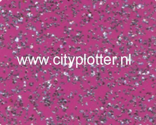Flexfolie Speciaal Glitter Wit Glitter White SS 3705 Cityplotter Zaandam
