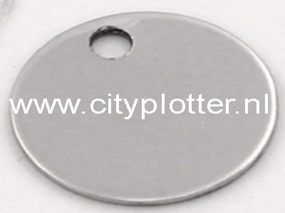 Tags armband bedel graveerstrip tag klein rondje label om te graveren of met vinyl te beplakken Cityplotter Zaandam