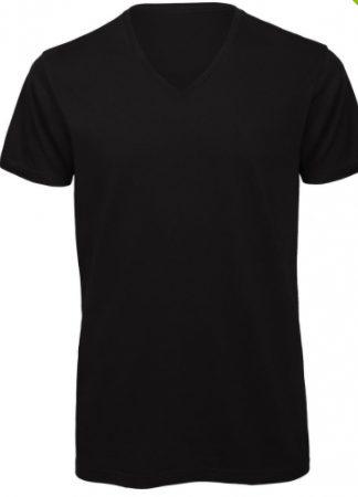 shirt man v hals zwart cityplotter zaandam