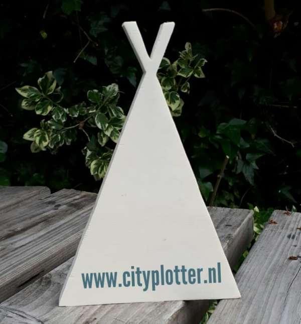 tipitent hout cityplotter zaandam