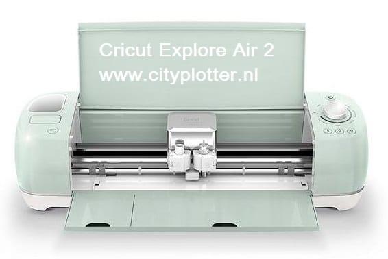 Cricut Explore Air 2 & GRATIS SUPER 15 PAKKET (VINYL/FLEX/FLOCK) ter waarde van 15 euro Cityplotter Zaandam