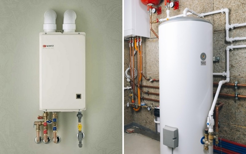 Tankless v.s. Traditional Water Heaters