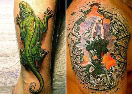 3D Tattoos Available Soon Says Futurist