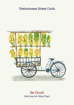 Xe chuối (Banana cart) - Bababa Banananana. Choose for yourself a whole comb of good bananas at a fraction of cost compared to most other countries